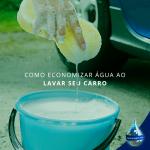 Como economizar água ao lavar seu carro